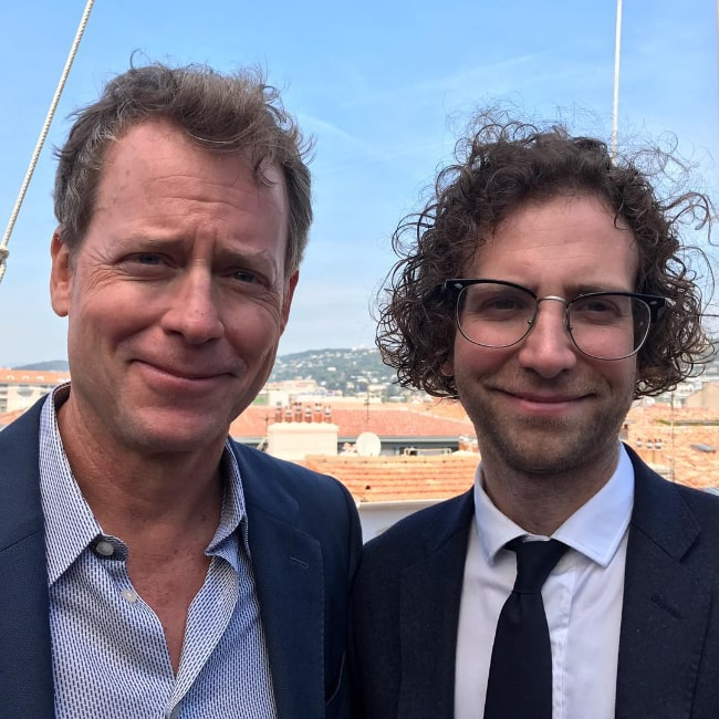 Kyle Mooney (Right) and Greg Kinnear as seen in July 2017