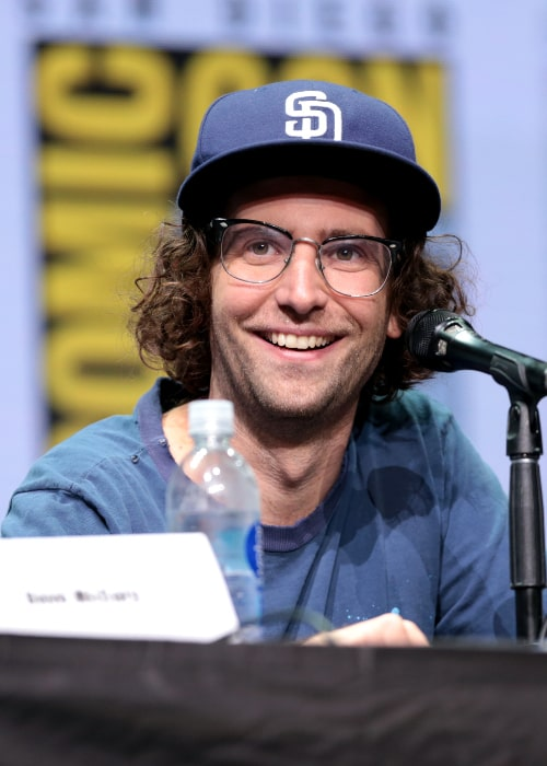 Kyle Mooney as seen while speaking at the 2017 San Diego Comic Con International for 'Brigsby Bear' at the San Diego Convention Center in San Diego, California