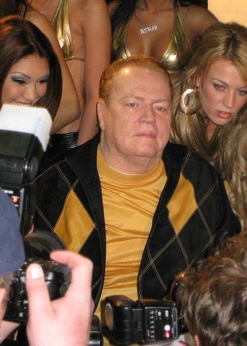 Larry Flynt as seen in January 2008