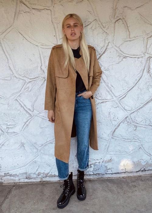 Lauren Wasser as seen in a picture taken in February 2020