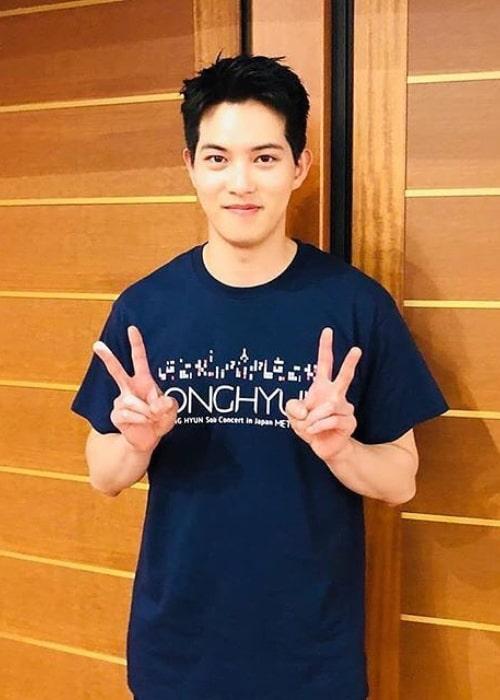 Lee Jong-hyun as seen in an Instagram Post in September 2018