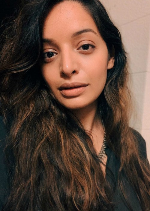 Lisa Mishra in an Instagram selfie as seen in May 2020