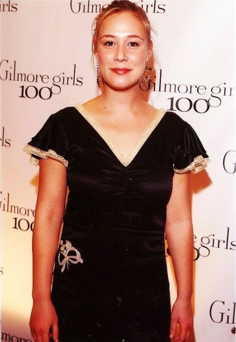 Liza Weil seen at the celebration party for completing 100 episodes of Gilmore Girls in 2005