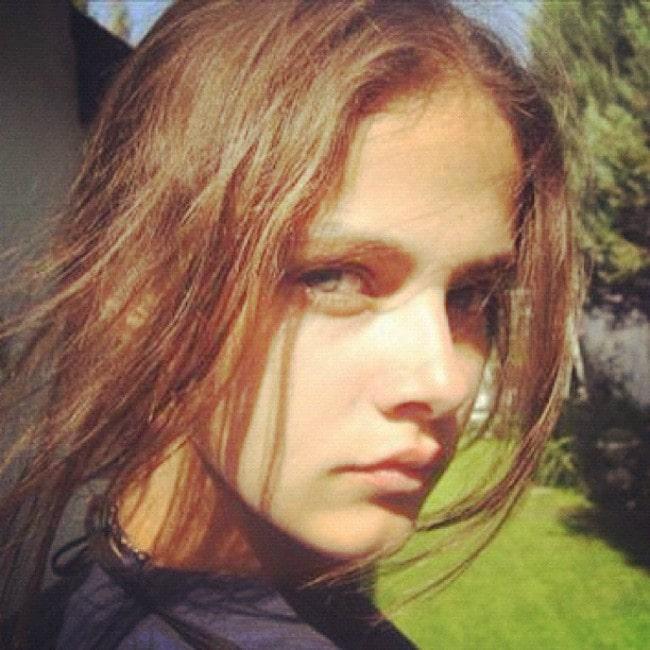 Lucia Dvorská in an Instagram post as seen in November 2012