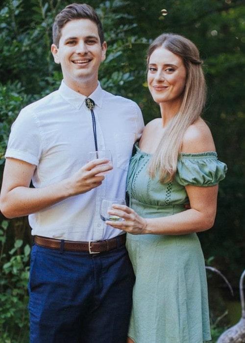 Luke Null and Kaitlin Cady Shultz as seen in December 2019