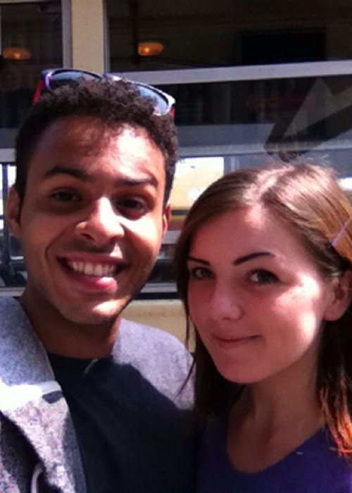 Marcel Cunningham and Simone Olivia, in an Instagram selfie, during a trip to San Francisco in September 2014