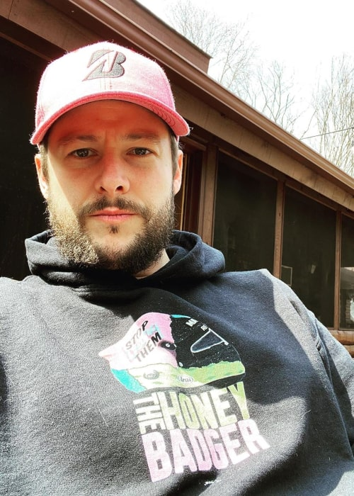 Marco Andretti as seen in an Instagram Post in April 2020