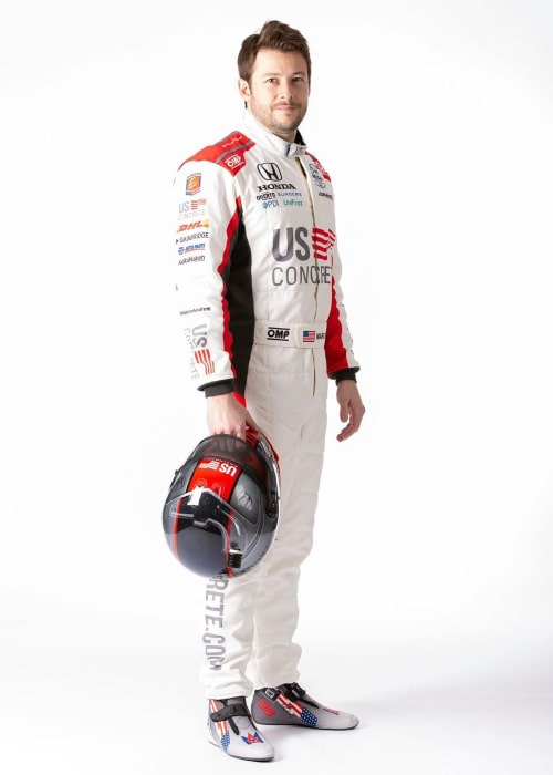 Marco Andretti as seen in an Instagram Post in February 2020