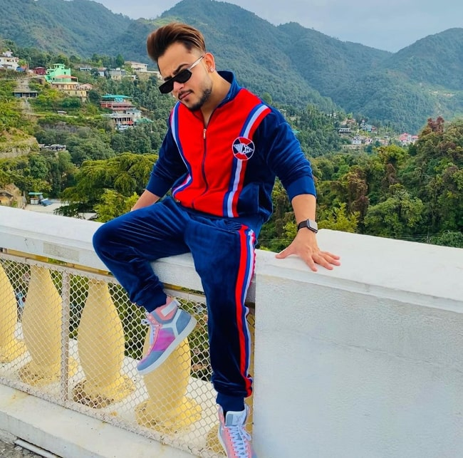 Millind Gaba as seen while posing for a picture in Mussoorie, Uttarakhand, India in November 2019