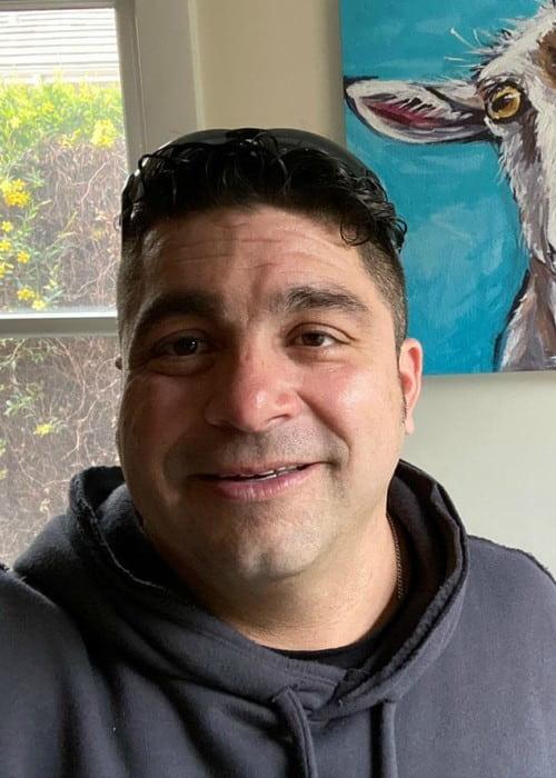 Monty Lopez in an Instagram selfie as seen in March 2020