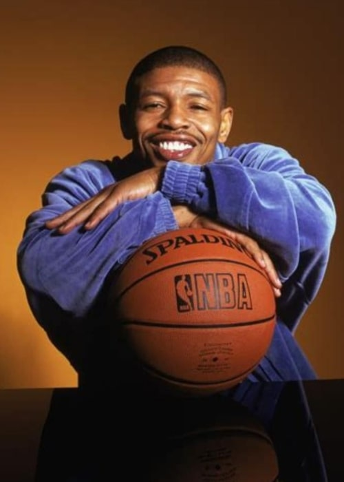 Muggsy Bogues as seen in a picture taken in April 2020