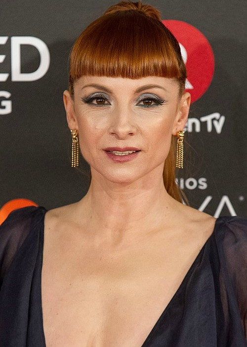 Najwa Nimri at the 32nd Goya Awards in February 2018