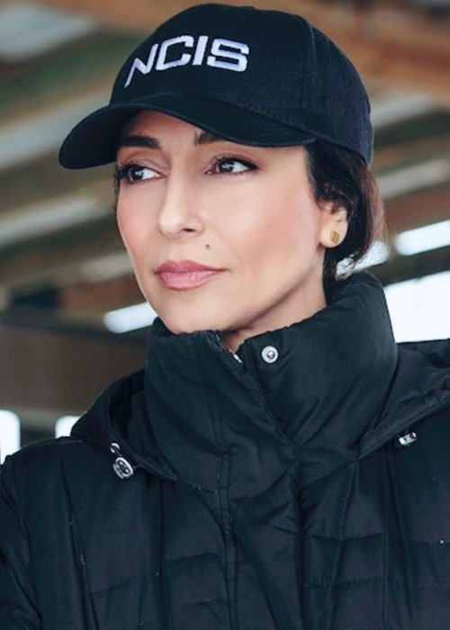 Necar Zadegan as seen in a picture taken in during the shoot of NCIS New Orleans in 2020