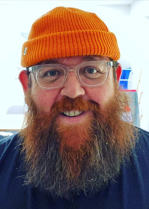 Nick Frost as seen in an Instagram Post in May 2020