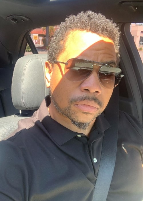 Omar Gooding as seen in a selfie taken in May 2020