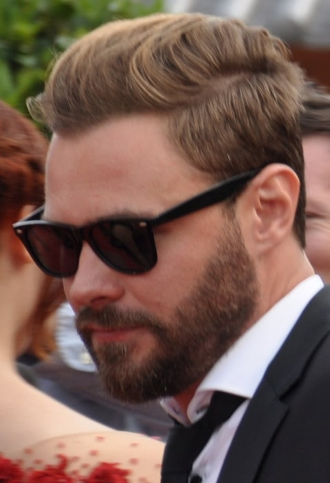 Patrick Flueger pictured at the 2015 Monte-Carlo Television Festival