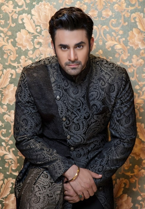 Pearl V Puri as seen while posing for the camera in Delhi in July 2018