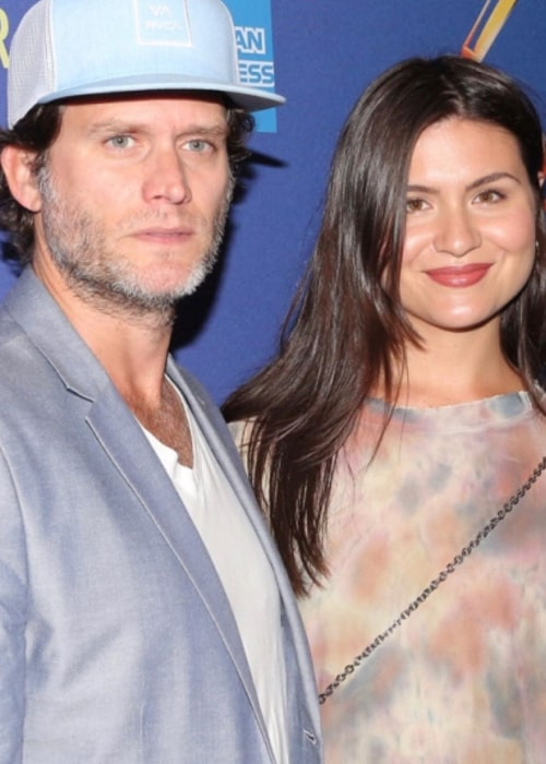 Phillipa Soo and Steven Pasquale, as seen in October 2019