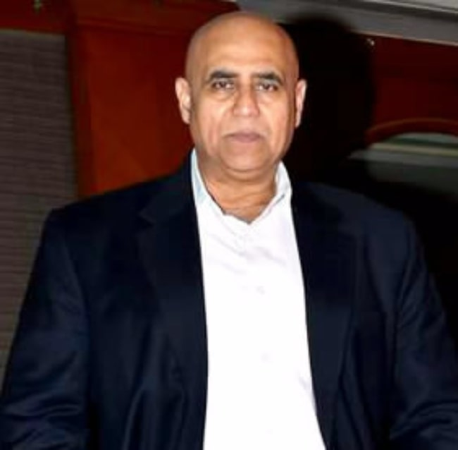Puneet Issar pictured at the launch of the film 'Barkha' in January 2014
