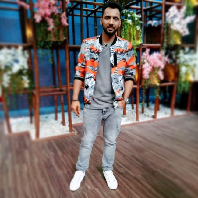 Punit Pathak as seen in April 2019