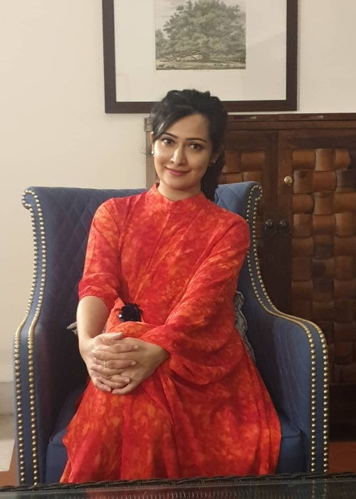 Radhika Pandit as seen in an Instagram Post in January 2020