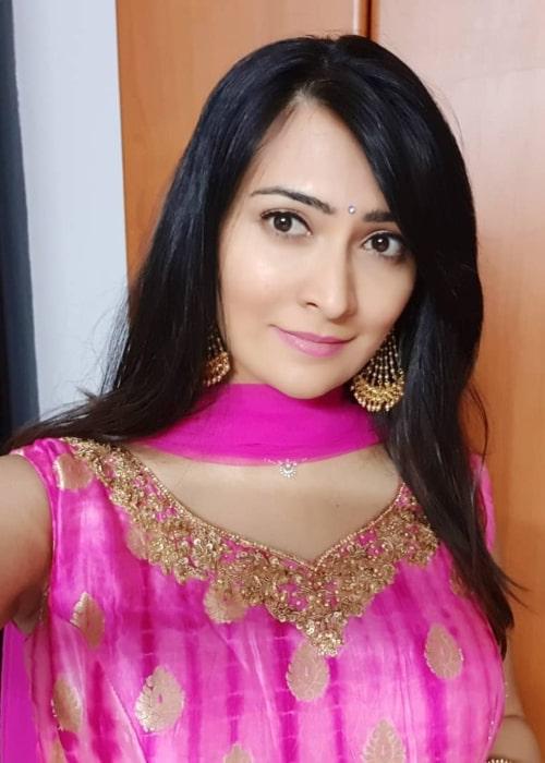 Radhika Pandit in an Instagram selfie from May 2019