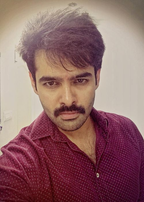 Ram Pothineni as seen in 2017