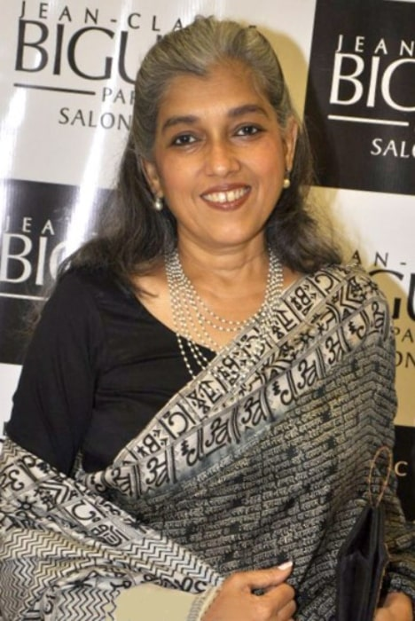 Ratna Pathak as seen at Jean - Claude Biguine Salon & Spa in July 2014