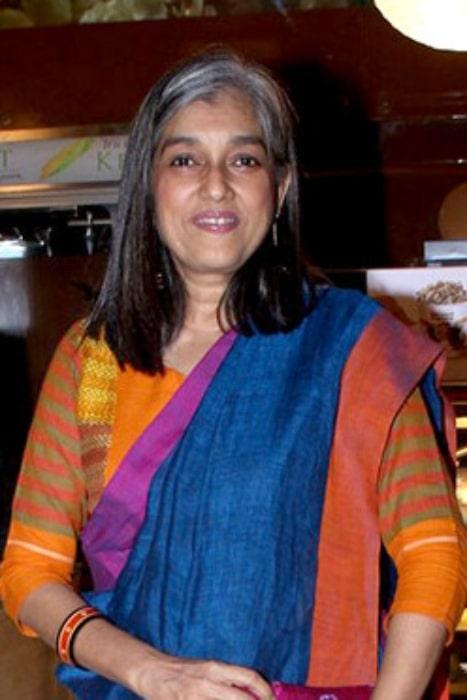 Ratna Pathak at the premiere of LWS at Mami 2016 with KSS