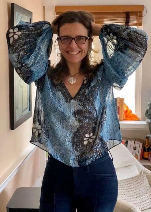 Rebecca Skloot as seen in a picture taken in Portland, Oregan in April 2020