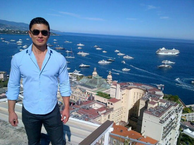 Rick Yune as seen in October 2013