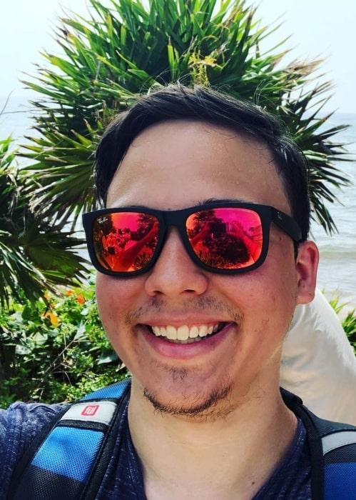 Ryguyrocky in an Instagram selfie as seen in June 2018