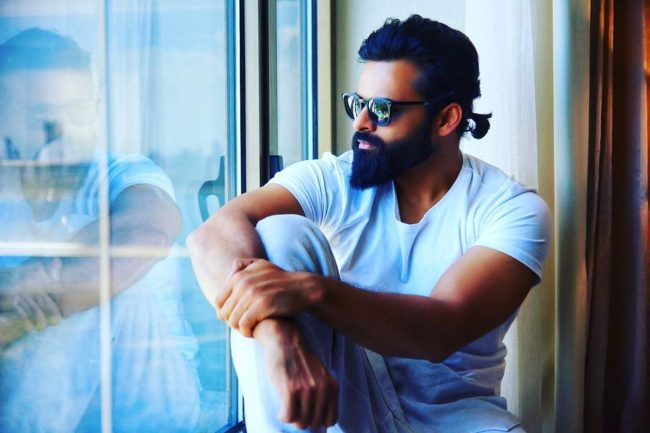 Sai Dharam Tej as seen in August 2019
