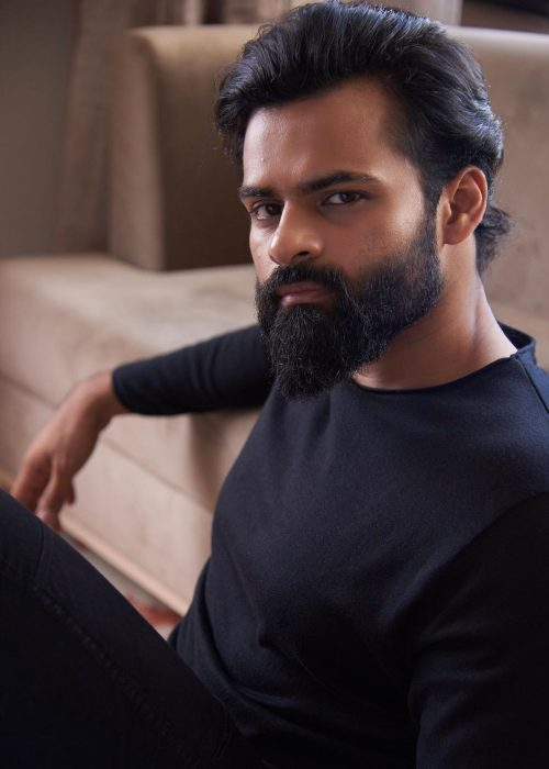 Sai Dharam Tej in a photoshoot from 2019