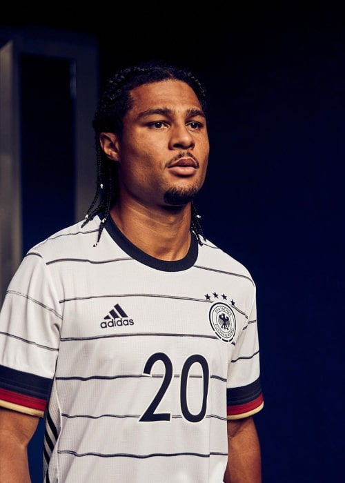 Serge Gnabry as seen in an Instagram Post in November 2019