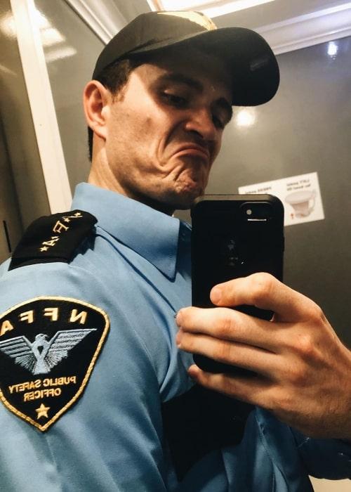 Seth Goodfellow as seen in a selfie taken in New Orleans, Louisiana in October 2019