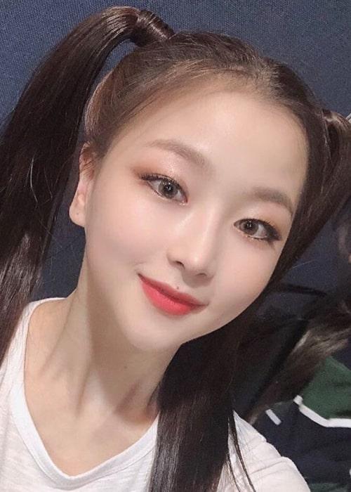 Seungeun as seen in a selfie taken May 2019