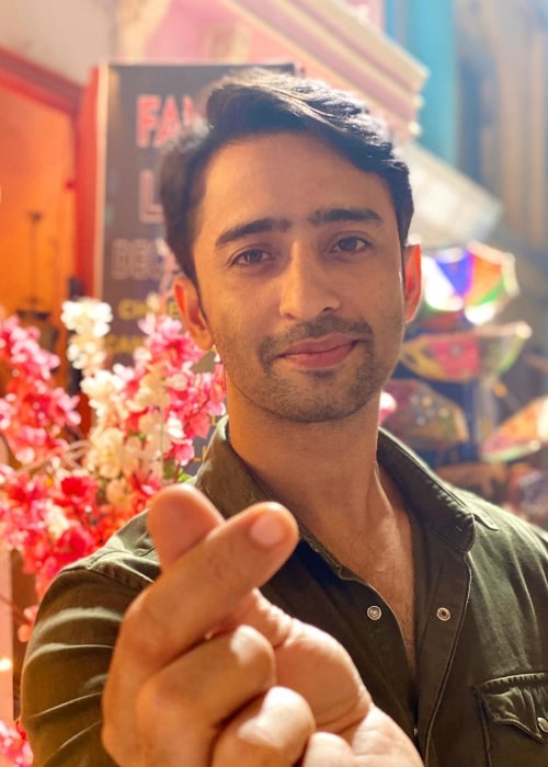 Shaheer Sheikh as seen in an Instagram Post in December 2019