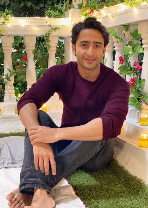 Shaheer Sheikh as seen in an Instagram Post in February 2020