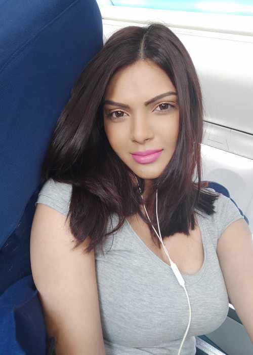 Sherlyn Chopra in selfie from 2019