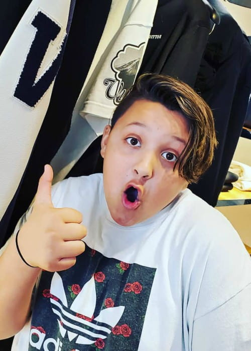 Skylander Boy in an Instagram post as seen in November 2019