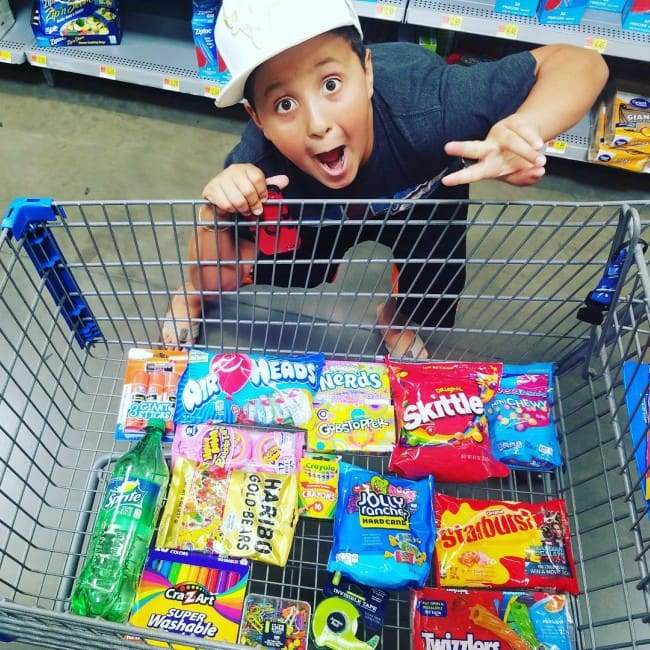 Skylander Boy in an Instagram post in August 2017