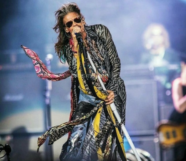 Steven Tyler performing in June 2018