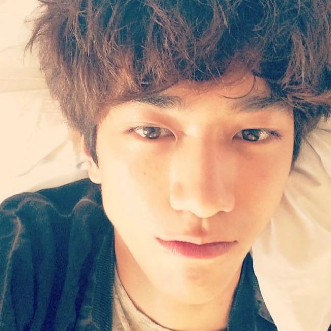 Sung Joon in an Instagram selfie as seen in July 2014