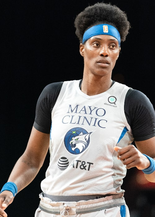 Sylvia Fowles as seen while playing in Las Vegas in a game against the Aces in July 2019