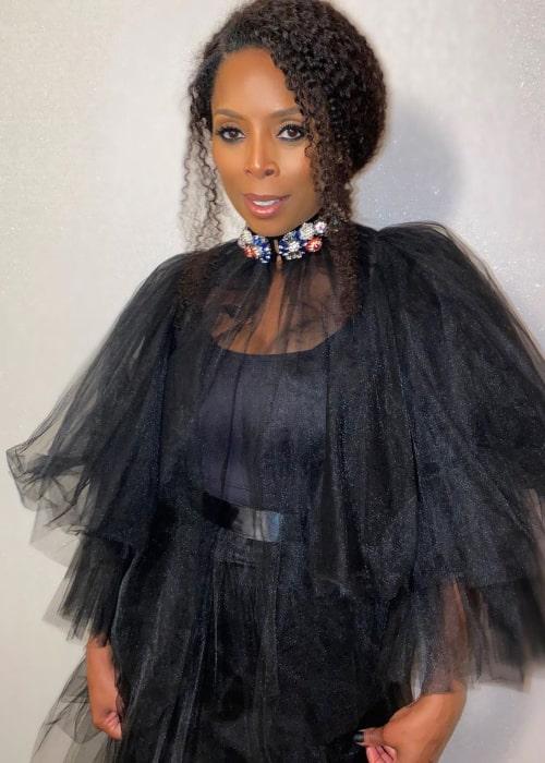 Tasha Smith as seen in an Instagram Post in January 2020