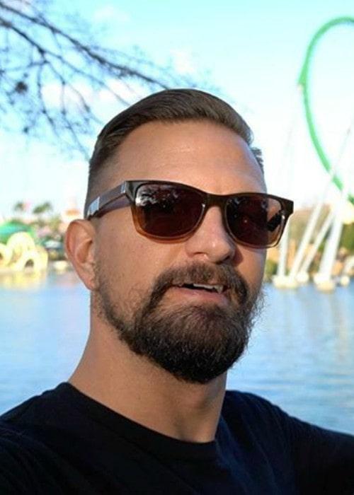 Tim Tracker in an Instagram selfie as seen in February 2020