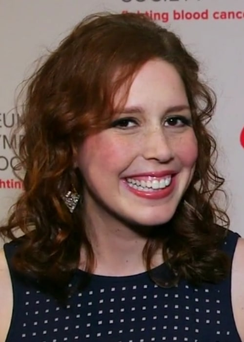 Vanessa Bayer at LOL for LLS benefit for the Leukemia & Lymphoma Society in May 2015