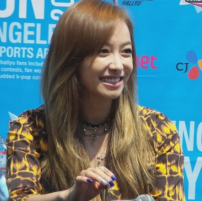 Victoria Song at the 2013 KCON in Los Angeles, California