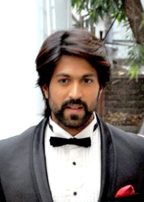 Yash at a photoshoot in Mumbai in December 2015
